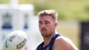 Bryce Cartwright will join Parramatta next year.