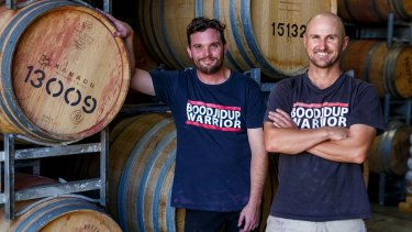 Xanadu winemakers Brendan Carr and Glenn Goodall have pumped out some great drops from the winery of late.