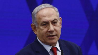 Benjamin Netanyahu, Israel's prime minister.