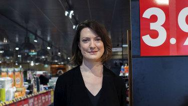Katie Roberts at ALDI in Quakers Hill.