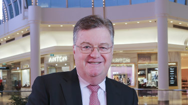 Values at signature malls like Chadstone are holding u,p but regional centres have taken a hit, Vicinity CEO Grant Kelley says.