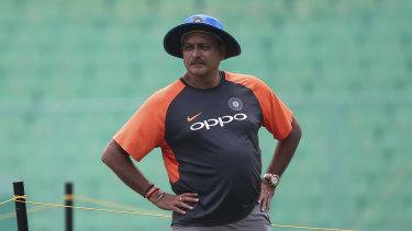 India's batting coach Ravi Shastri.