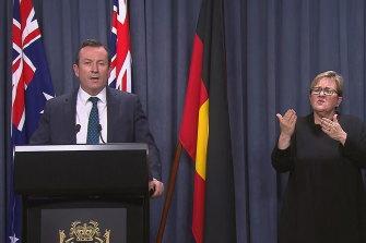 WA Premier Mark McGowan has announced a four-day snap lockdown.