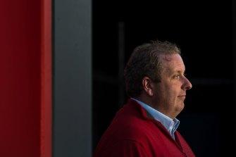 Josh Cullinan, RAFFWU secretary, helped expose the wage scandal involving big employers and the SDA