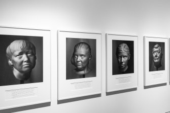 Some of the portraits of whistleblowers that make up Agonistes.