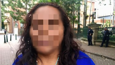 A mother, who cannot be identified for legal reasons, said her son was traumatised after spending three weeks in a maximum security watchhouse.