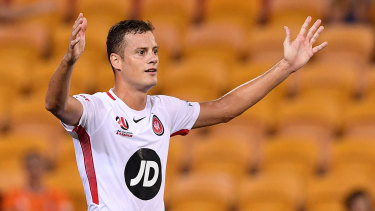 Heading for the exits: Oriol Riera leads  a long list of player departures at the Wanderers.