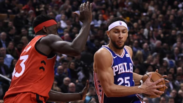 Simmons' hopes of leading Philadelphia to NBA finals receive a jolt