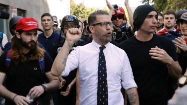 Proud Boys founder Gavin McInnes has a history of making inflammatory statements about Muslims, women and members of the LGBT community.