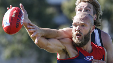 Max Gawn impressed against Collingwood.