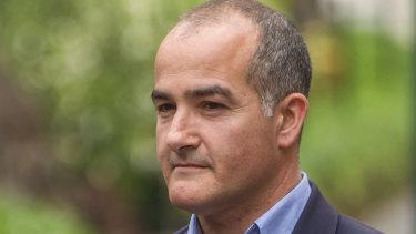 Education Minister James Merlino.