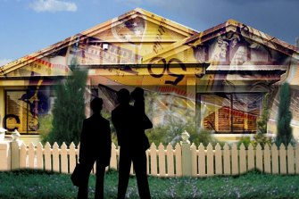A fixed rate mortgage can mean loss of flexibility but some big savings. Illustration: Peter Riches
