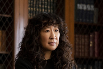 Sandra Oh is the head of the English Department at a minor Ivy League college in The Chair.