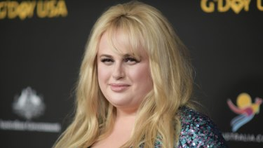 Rebel Wilson at the 2018 G'Day USA gala in Los Angeles in January.