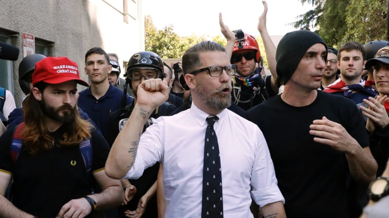 Proud Boys founder Gavin McInnes has a history of making inflammatory statements about Muslims, women and members of the LGBT community