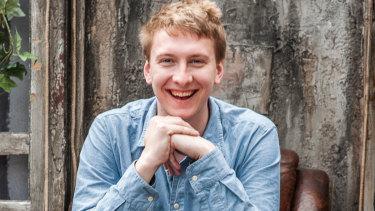 English comedian Joe Lycett hosted the Sydney Comedy Festival Gala.