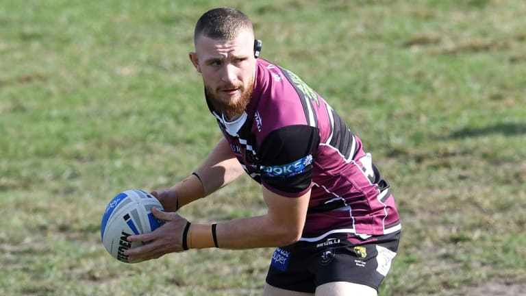Red devil: Jackson Hastings is on his way to the Super League to join Salford.