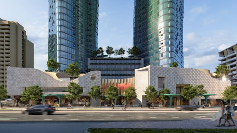 An artist's impression of the revised development on the former Contacio site in Scarborough.