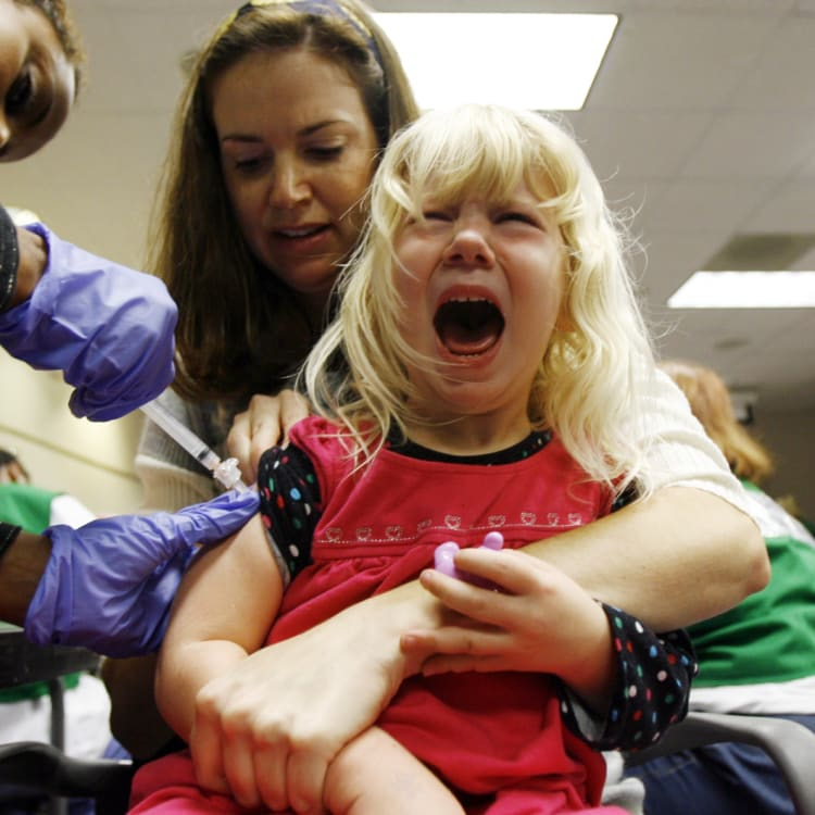 Flu vaccines are not as effective as other childhood vaccines – but they still offer partial protection.