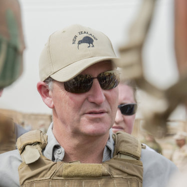 In October 2015, then-Prime Minister John Key visited Kiwi troops based at Camp Taji in Iraq.