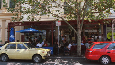Lygon Street Foodstore in 2001, in its glory days.