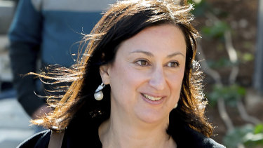Maltese investigative journalist Daphne Caruana Galizia was killed by a car bomb in in 2017.