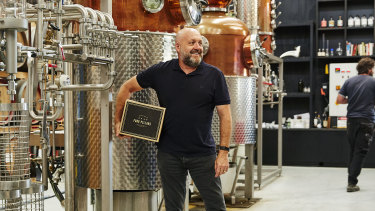 Stuart Gregor, co-founder of Four Pillars Gin, says new tax changes will boost the fledgling Australian industry.