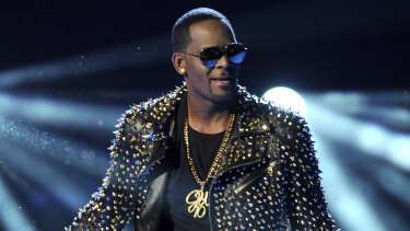 R. Kelly at the BET Awards in 2013.