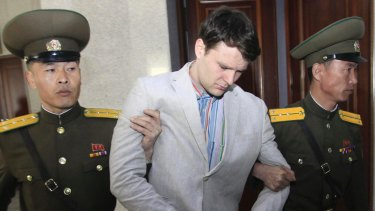 American student Otto Warmbier died days after he returned to the US after being imprisoned in North Korea.