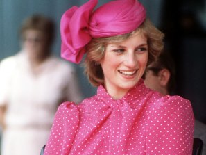 Princess Diana during a visit to Perth, Australia, March 1983.