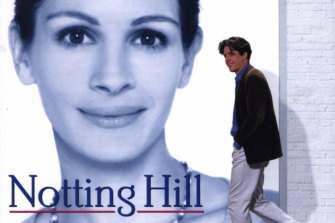 Notting Hill's soundtrack featured Julia Roberts and Hugh Grant on the cover.