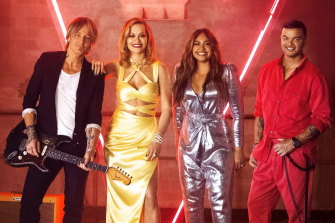 Viewers warmed to the new coaching line-up of Keith Urban, Rita Ora and Jessica Mauboy and old boy Guy Sebastian.