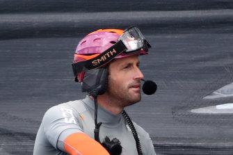 Ineos Team UK skipper Ben Ainslie.