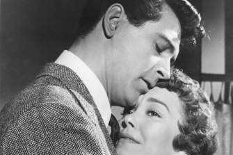 Rock Hudson and Jane Wyman in Douglas Sirk's 1955 film, All That Heaven Allows.