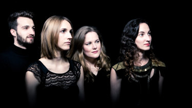 L-R: Jacob Abela, Tamara Kohler, Gemma Kneale and Kaylie Melville of Rubiks Collective.