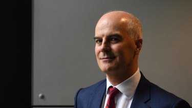 "CEO Craig Drummond says Medibank would put itself forward as a ""white knight"" if needed."