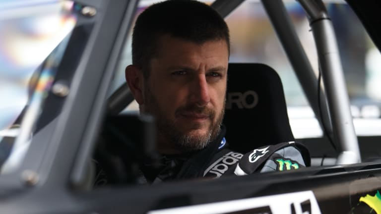Rally driver Ken Block is the brains behind Gymkhana.