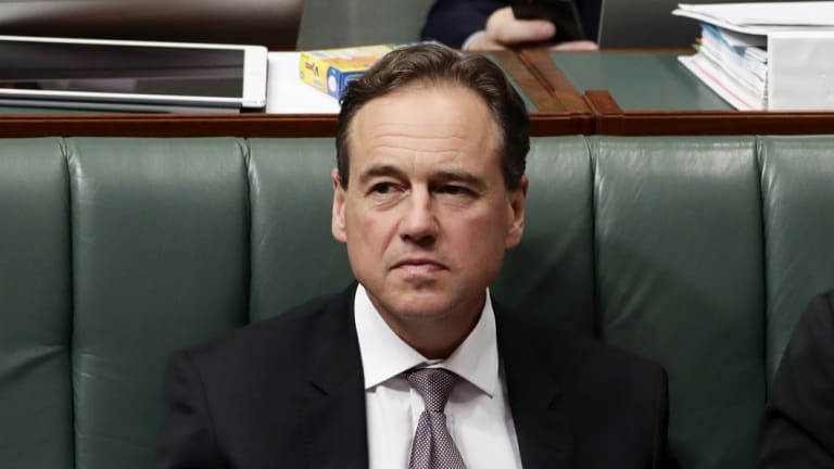 Health Minister Greg Hunt (pictured) is likely to lose one of his long-time advisors, Alex Caroly, to the Prime Minister's Office as staff adjust to a new leadership.