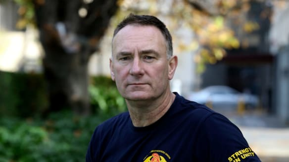 Firefighters union boss says there is no secret recording of Andrews