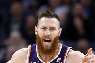 Aron Baynes' move to the then-struggling Phoenix has been a blessing in disguise for the Australian.