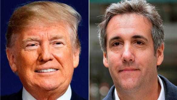 Trump reportedly told Michael Cohen to lie. His own attorney general pick testified that's a crime.