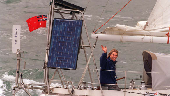 Flashback 1998: Jessie Martin departs on his around-the-world voyage
