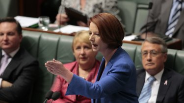 It is no coincidence that Julia Gillard's most memorable speech was based on scant preparation.