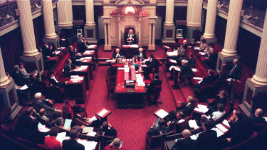 The balance of power in Victoria's upper house is held by 11 crossbench MPs.