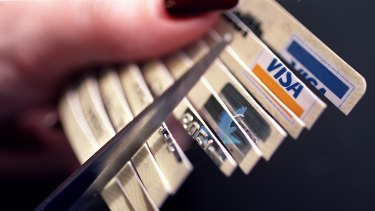 The number of credit cards is now at its lowest level in four years.