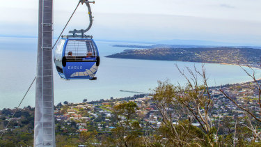 Enjoy the views from the Arthurs Seat Eagle.