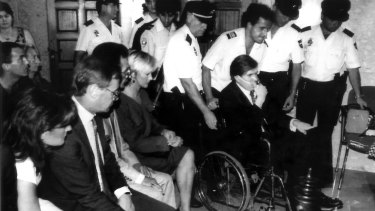 Christopher Skase in a court appearance in Spain, 1994.