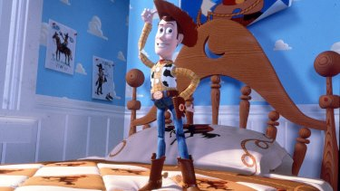 Woody in Pixar's original Toy Story.
