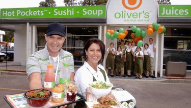 Oliver's is racking up debt after closing 25 stores along Australia's eastern seaboard.