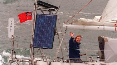 Jesse Martin sets sail from Sandringham.